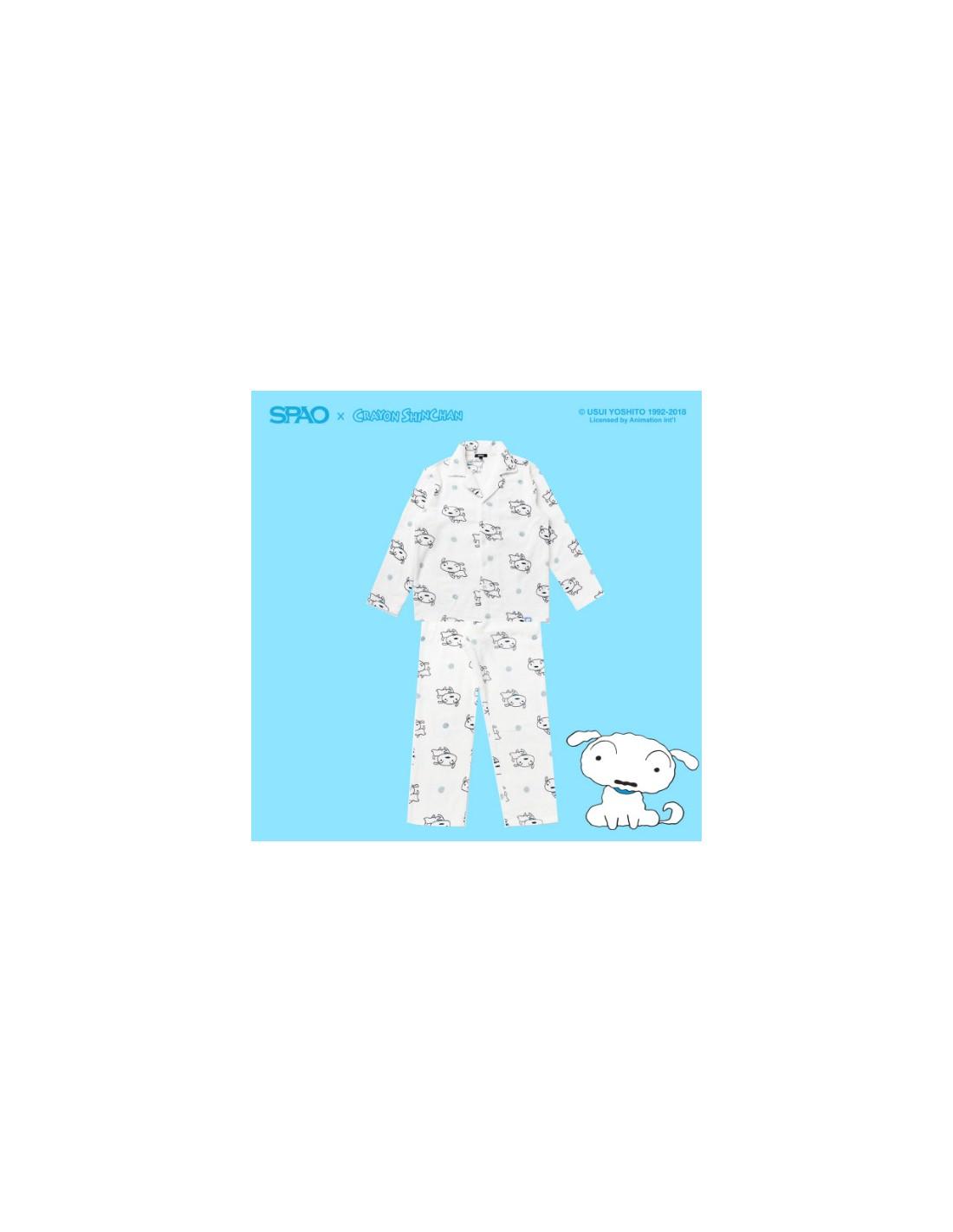 SPAO X CRAYON SHINCHAN PAJAMA WHITE 69c8d0057bd34