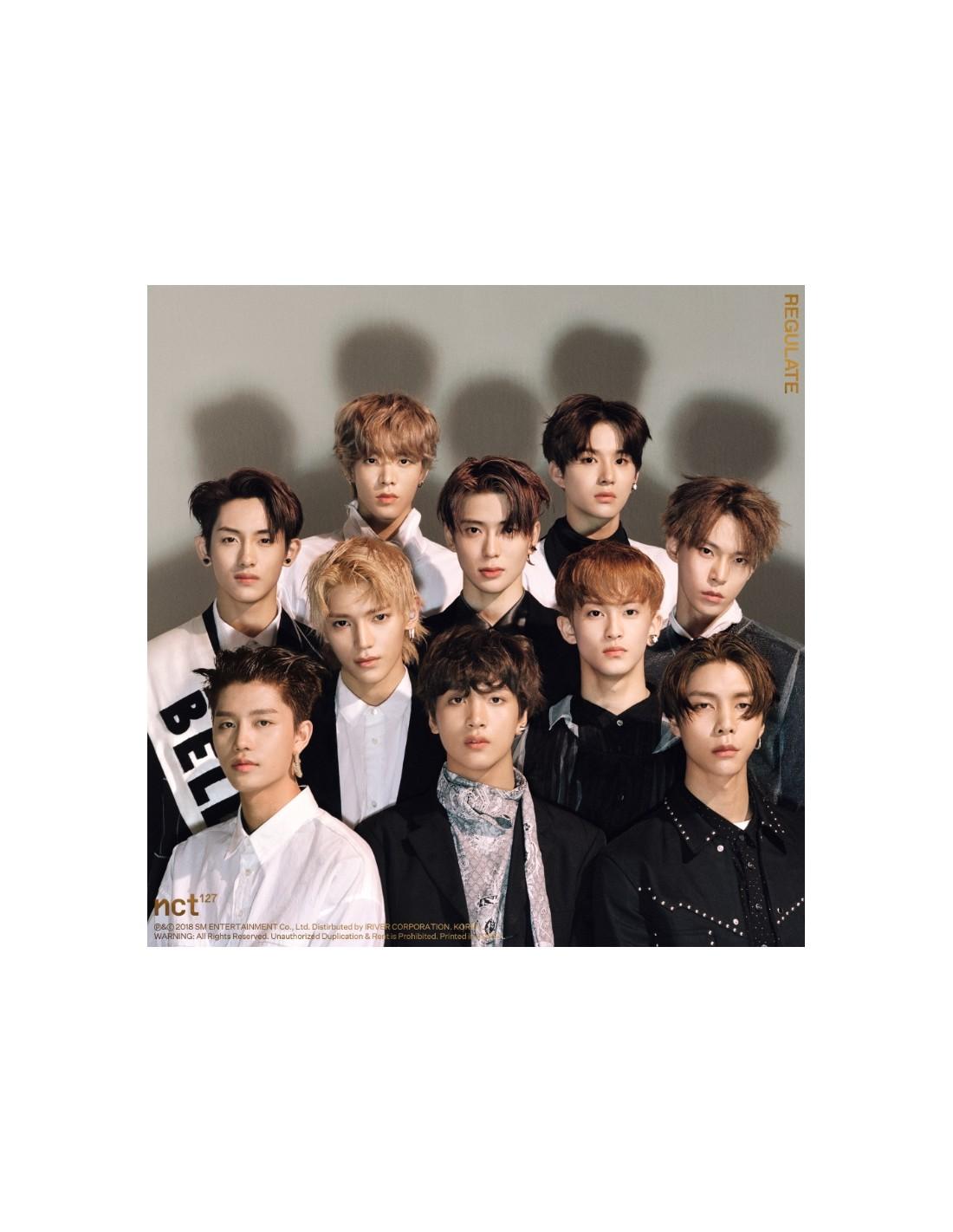 NCT 127 1st Repackage Album - NCT 127 Regulate (Random ver) CD + Poster