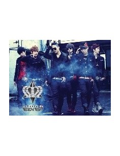 TEEN TOP Teentop 2nd Mini Album - It's Its CD + Poster