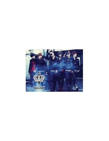 TEEN TOP Teentop 2nd Mini Album - It's Its CD + Poster