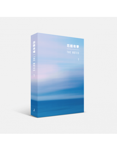 2nd Press] BTS Official Goods - 花樣年華 THE NOTES 1 (Japanese)