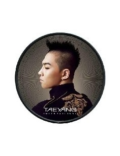 BIGBANG TAEYANG Solar International CD + Poster + Stickers
