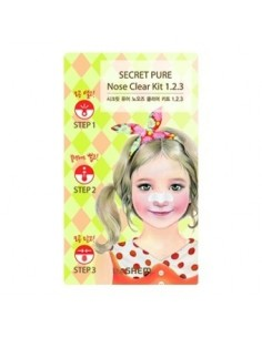 [the SAEM] Secret Pure Nose Clear Kit 1•2•3 6g