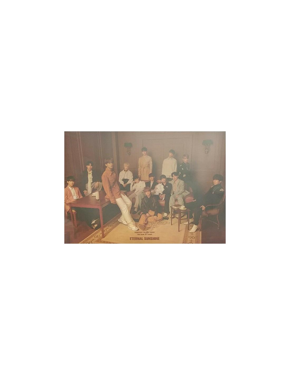 [Poster] SEVENTEEN 6th Mini Album - YOU MADE MY DAWN (ETERNAL SUNSHINE VER)