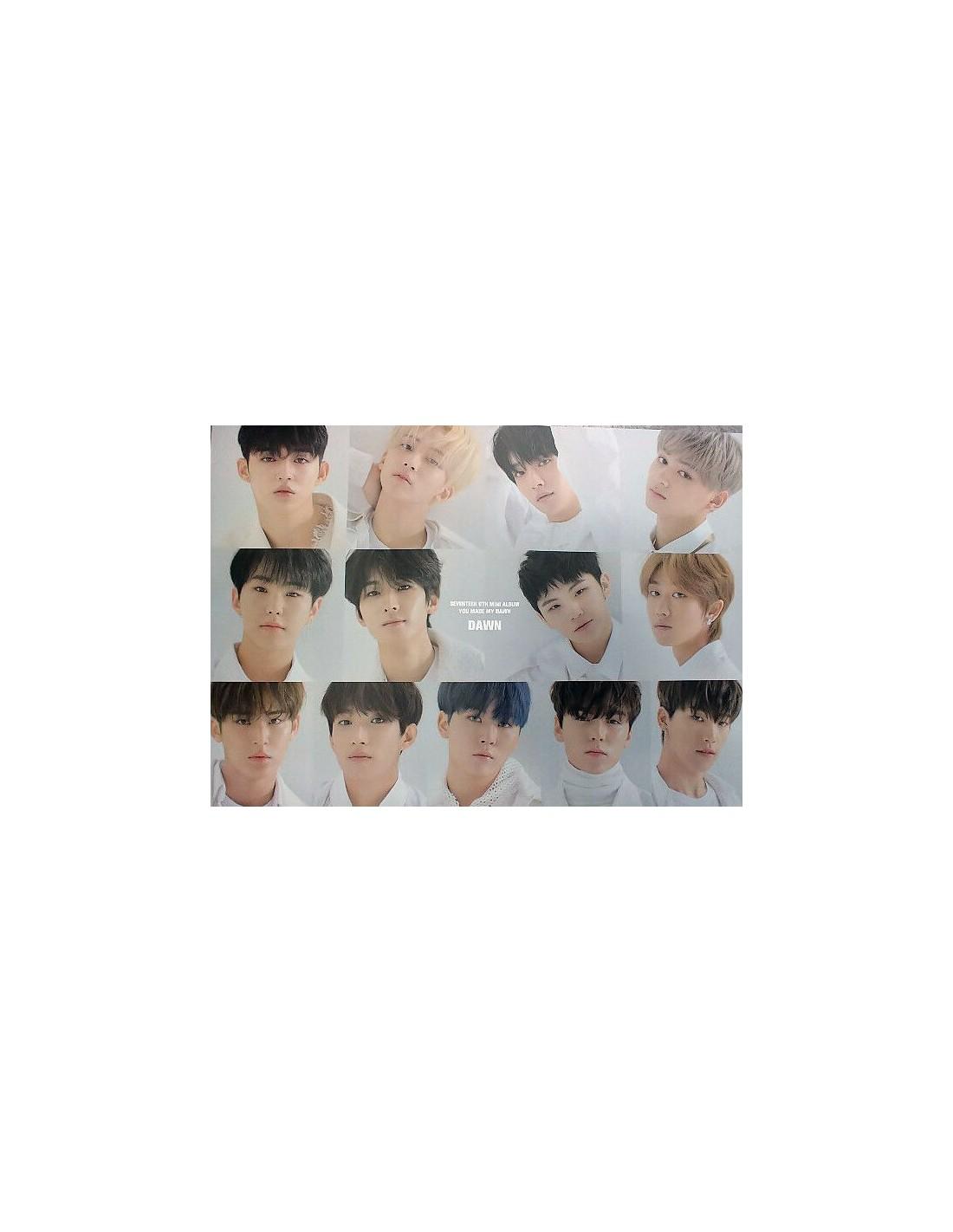 [Poster] SEVENTEEN 6th Mini Album - YOU MADE MY DAWN (DAWN VER)