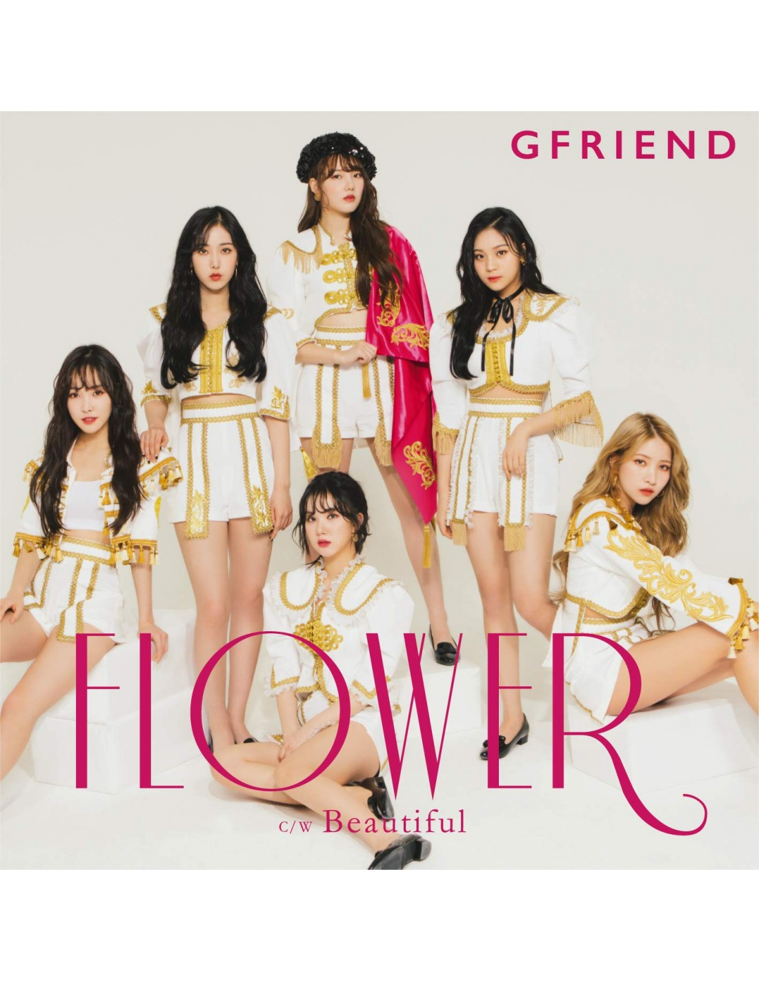 [Japanese Edition] GFRIEND 3rd Single Album - FLOWER (1st Limited Edition  Ver A) CD + DVD