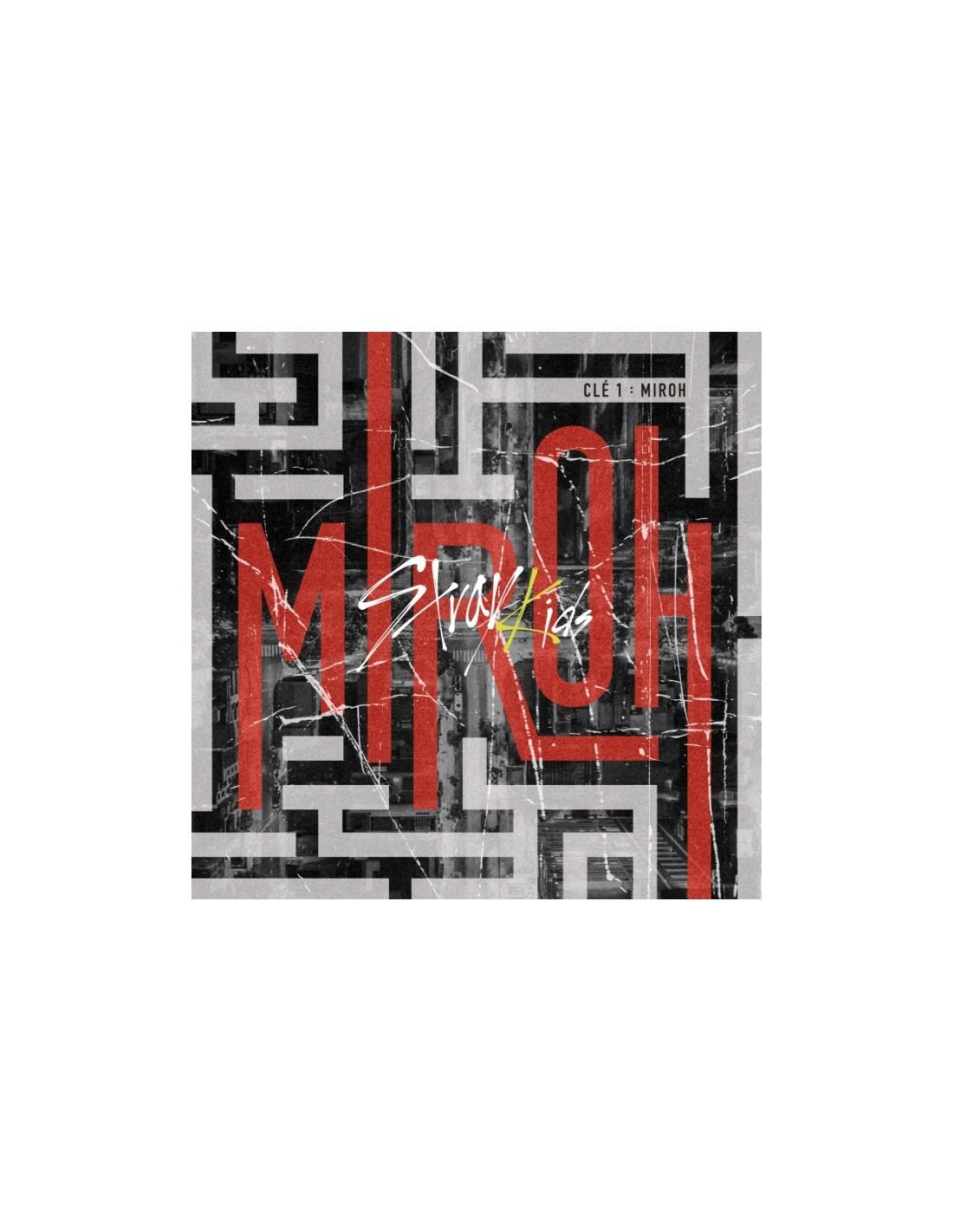 Stray Kids - Cle1 : MIROH (Random Ver) CD + Poster
