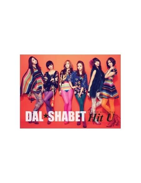 DAL★SHABET DAL SHABET Hit U 4th Mini Album CD + Poster