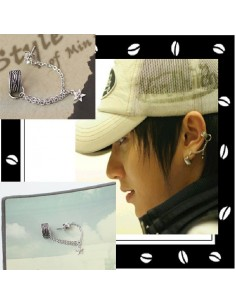 Super Junior Lee Teuk Style Ear Cuff Earrings