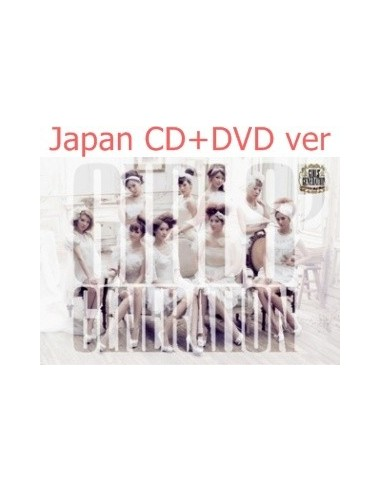 Girls Generation SNSD Japan First Album CD + DVD Girls' Generation