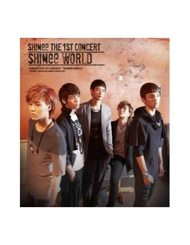 SHINEE The 1st Concert SHINEE World 2CD + photobooklet (40pages)