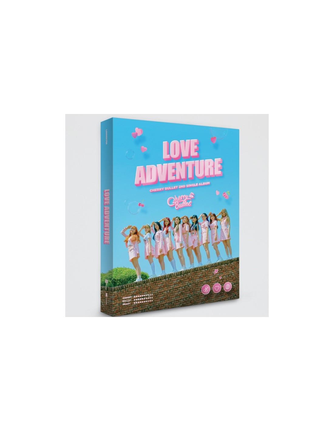 Cherry Bullet 2nd Single Album - LOVE ADVENTURE CD + Poster