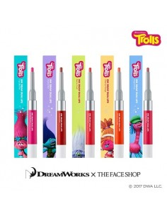 [Thefaceshop] Trolls INK DRAW DUAL LIPS(5Kinds) 3.3g