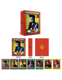 EXO Lenticular Postcard Collect Book : THE WAR Ver (8Kinds)