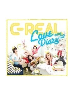 C-REAL 2nd Mini Album - Joma Joma CD + Poster