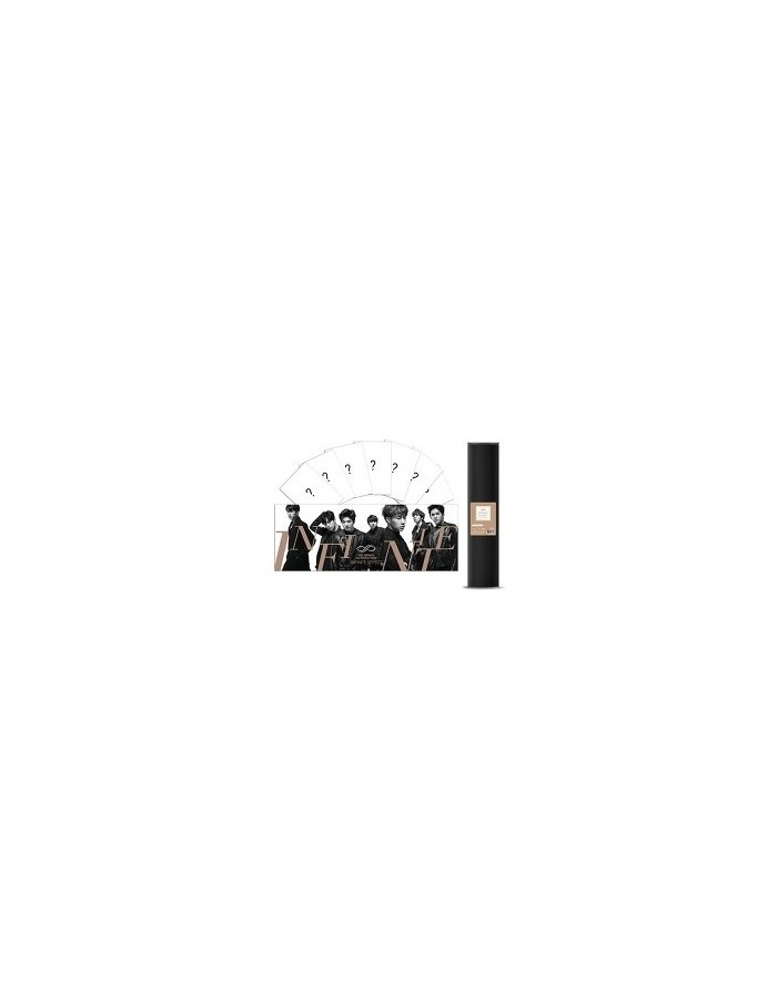 "[ INFINITE Official Goods ] 2015 Infinite 2nd World Tour ""Infinite Effect"" - Poster Set A"