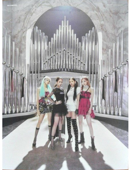 [Poster] BLACKPINK 2nd Mini Album - KILL THIS LOVE Poster (2Sided)