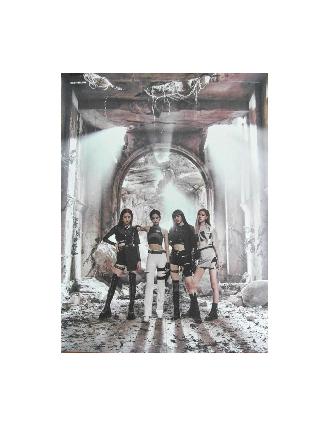 Poster] BLACKPINK 2nd Mini Album - KILL THIS LOVE Poster