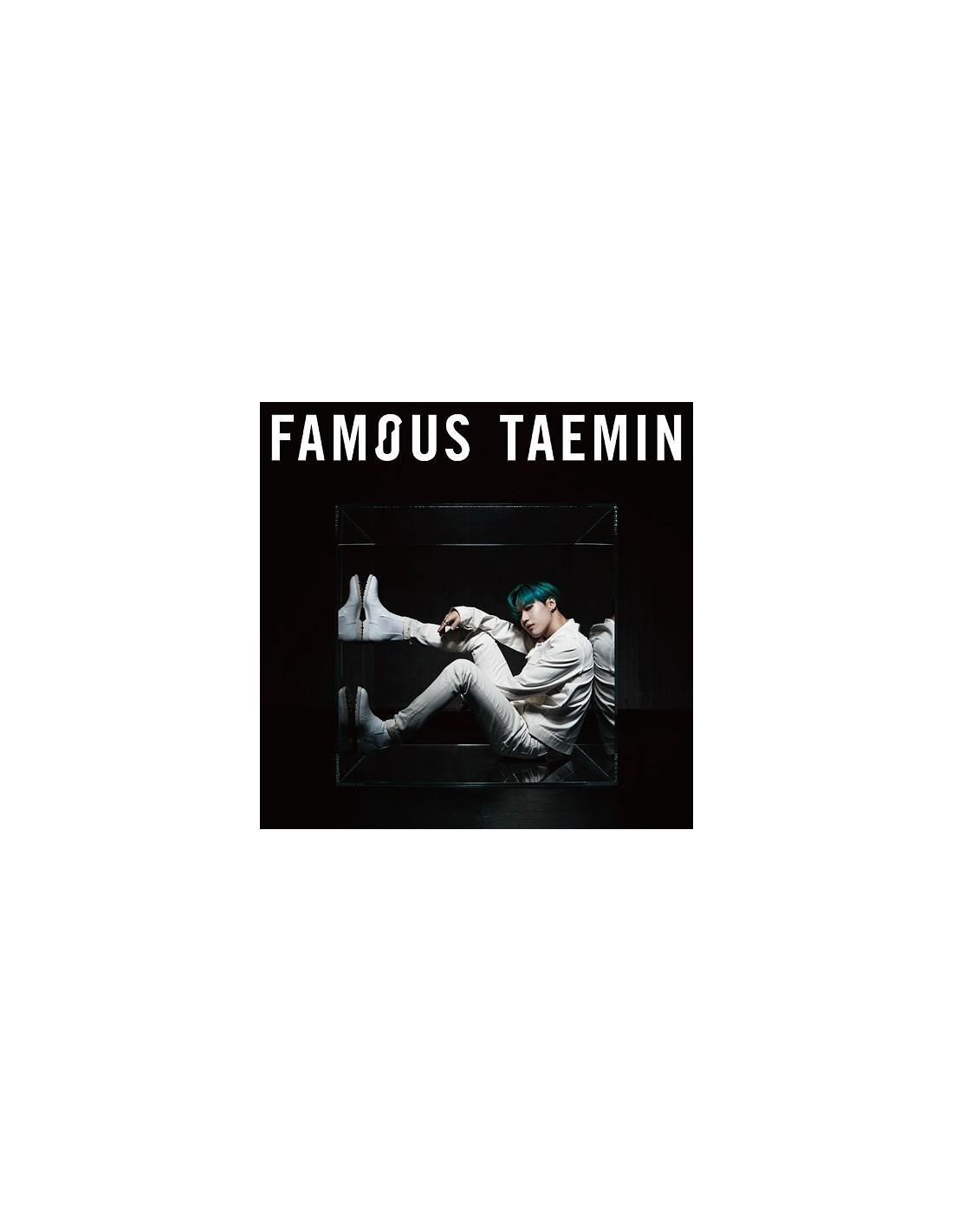 [Japanese Edition] TAEMIN 3rd Mini Album - FAMOUS CD