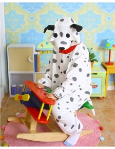 [PJA33] SHINEE Animal Pajamas - Dalmatian