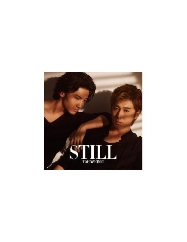 TVXQ Dong Bang Shin Ki Japan Single Album - Still CD Version