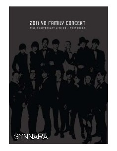 15TH ANNIVERSARY 2011 YG FAMILY CONCERT LIVE CD + PHOTO BOOK