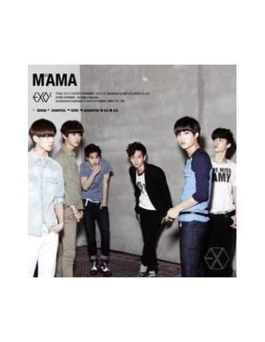 EXO-K First Mini Album MAMA CD + Poster