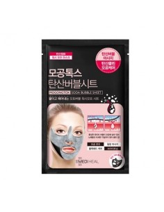 [ MEDI HEAL ] MOGONGTOX, Pore-Tox Soda Bubble Sheet
