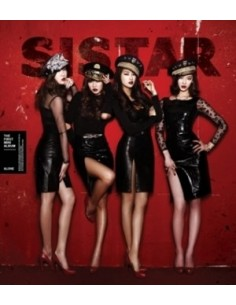 Sistar First Mini Album Alone Special Edition CD + Poster