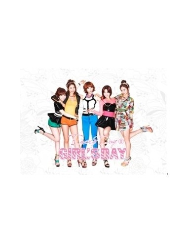 Girls Day The 2nd Mini Album - EverydayⅡ CD + Poster