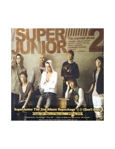 Super Junior Second Album Vol 2 [Don't Don] Repackage CD + DVD Version