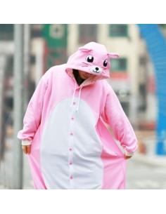 [PJA39] SHINEE Animal Pajamas - Pink Mouse