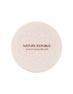 [ Nature Republic ] Pure Shine Powder Pact
