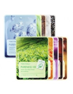 [TONYMOLY] Pureness 100 Mask Sheet - 10Kinds