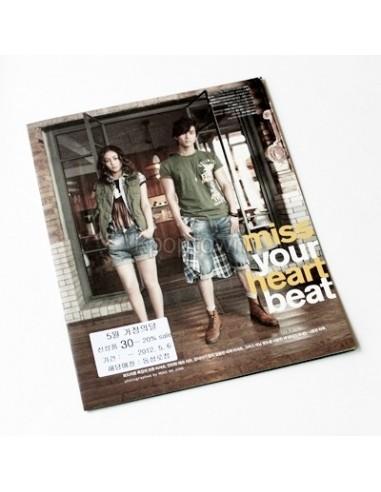 EVISU 2PM 2012 Summer Collection Brochure Booklet
