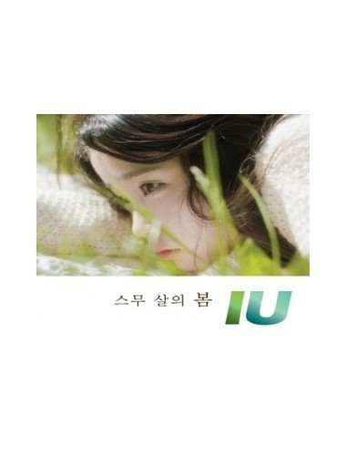 IU Single Album Twenty's Spring 스무살의 봄 Cd + Poster
