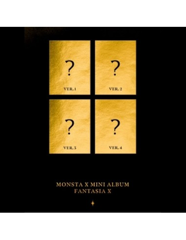 Monsta X Mini Album Fantasia X Choose Ver Cd Poster