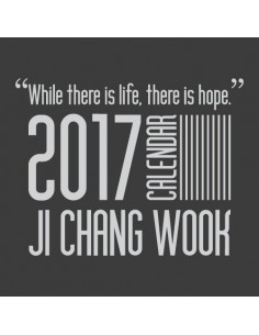 2017 JCW Ji Chang Wook Calendar (2Kinds)