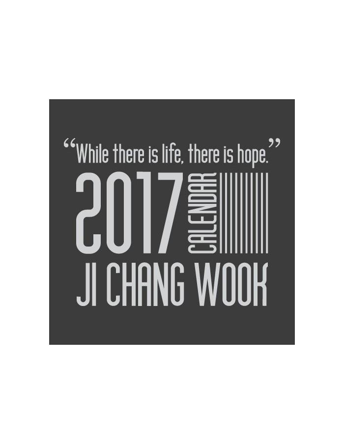 2017 JCW Ji Chang Wook Calendar (2Kinds)