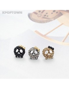 [GS10]Girlish Beauty Skull Earring
