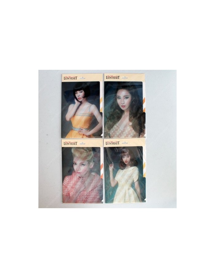 Girls Generation SNSD A5 L-Holder : Lion Heart Version