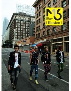 MIB M.I.B EP Album Illusion CD + Poster