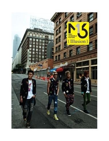 MIB M.I.B EP Album Illusion CD + Poster