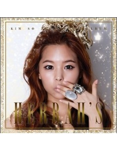 Kim So Jung Single Album Herrah's CD + Poster