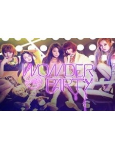 Wonder Girls Mini Album Wonder Party CD + Poster