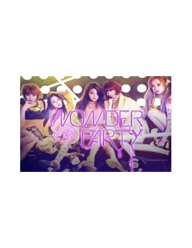 Wonder Girls Mini Album Wonder Party CD + Poster