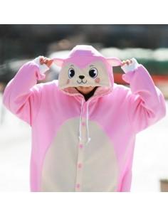 [PJA40] SHINEE Animal Pajamas - Pink Monkey