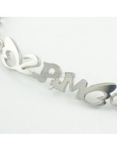 [PM13] 2PM Titanium Steel Name Necklace