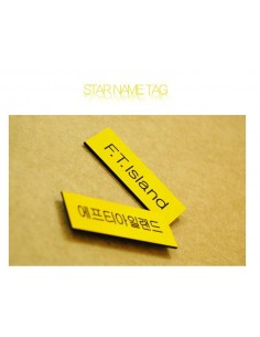 STAR Name Tag Badge of Ftisland