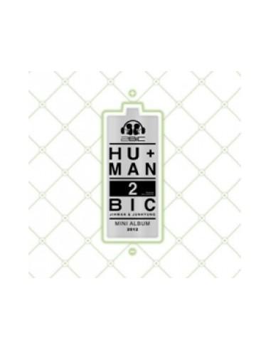 2Bic First Mini Album CD - HU+MAN